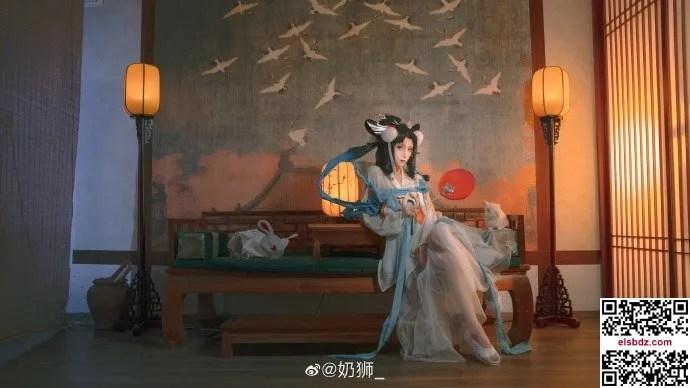 王者荣耀嫦娥如梦令cos 仙气优美 cn奶狮 (14P)插图(8)