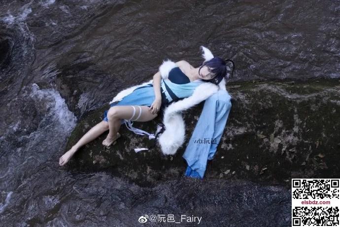 涂山雅雅狐妖小红娘cos,仙气水灵 cn阮邑_Fairy (12P)插图(2)