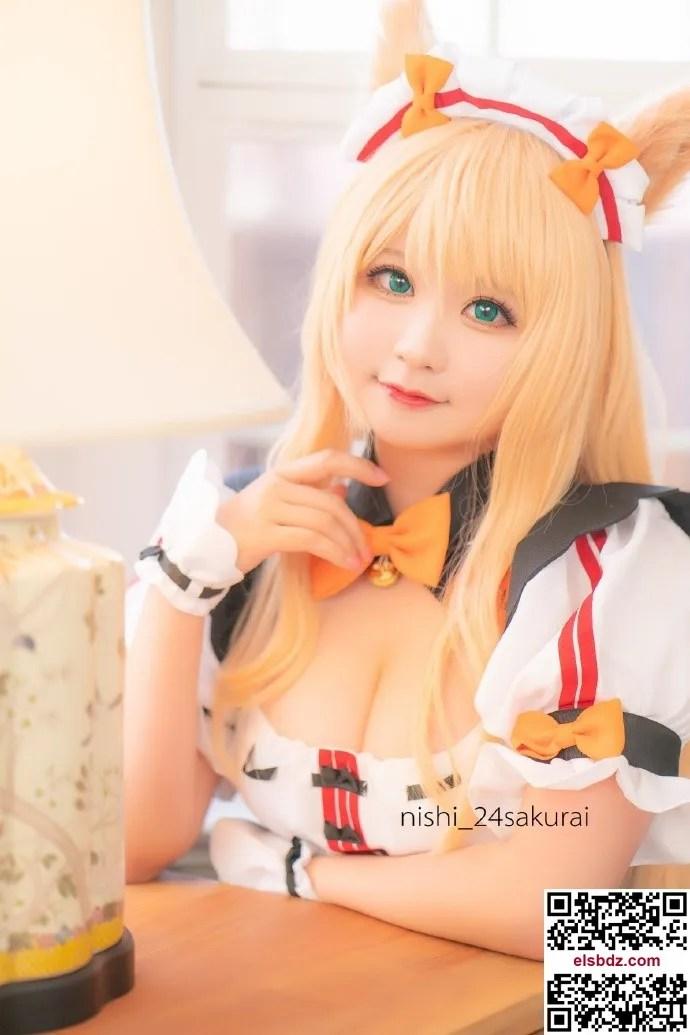 Nekopara Maple 娇萌可爱的猫女仆cos cn贰肆NiShi (9P)插图(4)