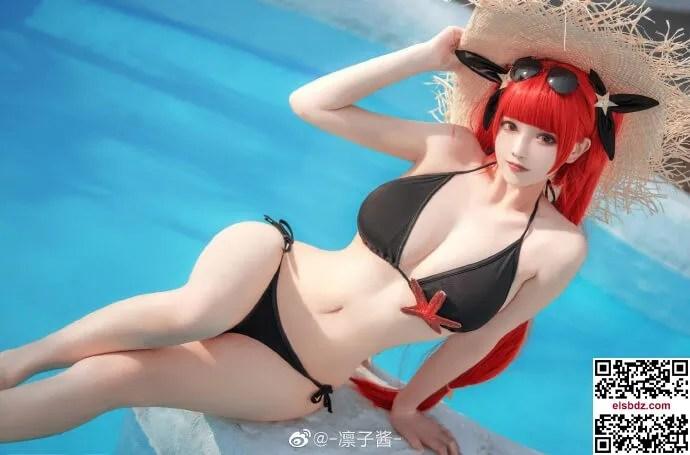 碧蓝航线4周年 火奴鲁鲁泳装cos cn凛子酱 (16P)插图(11)