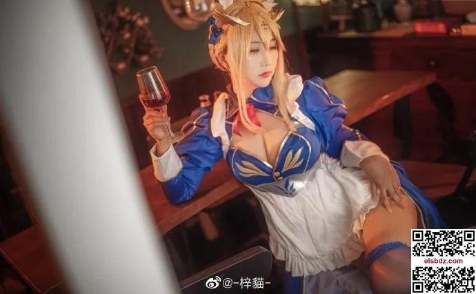 FGO白枪呆cos同人女仆礼服 cn梓猫 (10P)插图(2)