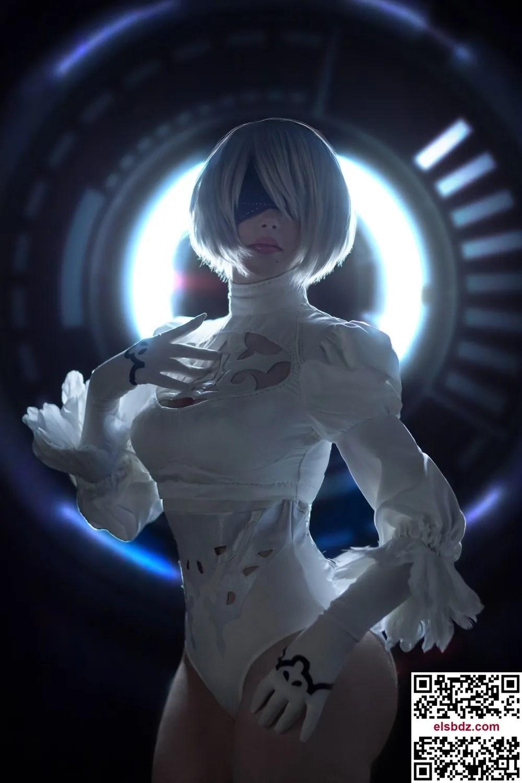 Sayathefox 2B in the white dress插图(6)