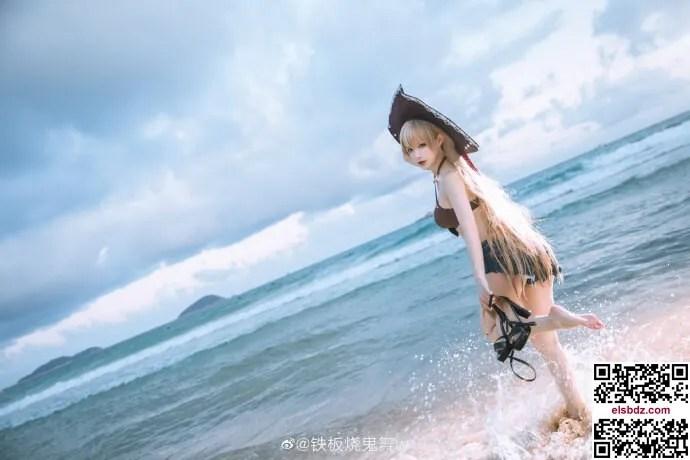 碧蓝航线4周年 让巴尔泳装cos cn铁板烧鬼舞w (15P)插图(3)