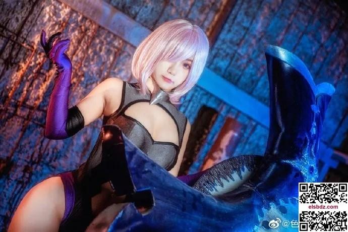 Fate/GrandOrder玛修·基列莱特 玛修训练服cos CN色白 (9P)插图(2)