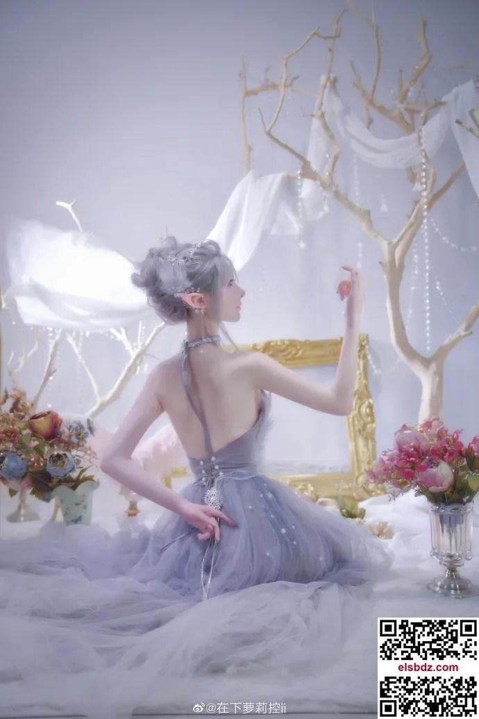 鬼刀海琴烟cos,冰公主的唯美仙气 cn在下萝莉控ii (12P)插图
