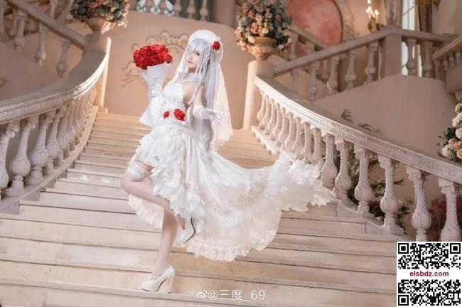 少女前线 G36C迈出步伐的你 白色礼服cos CN三度 (10P)插图(5)