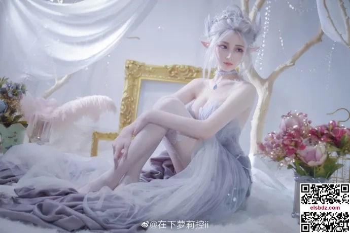 鬼刀海琴烟cos,冰公主的唯美仙气 cn在下萝莉控ii (12P)插图(2)