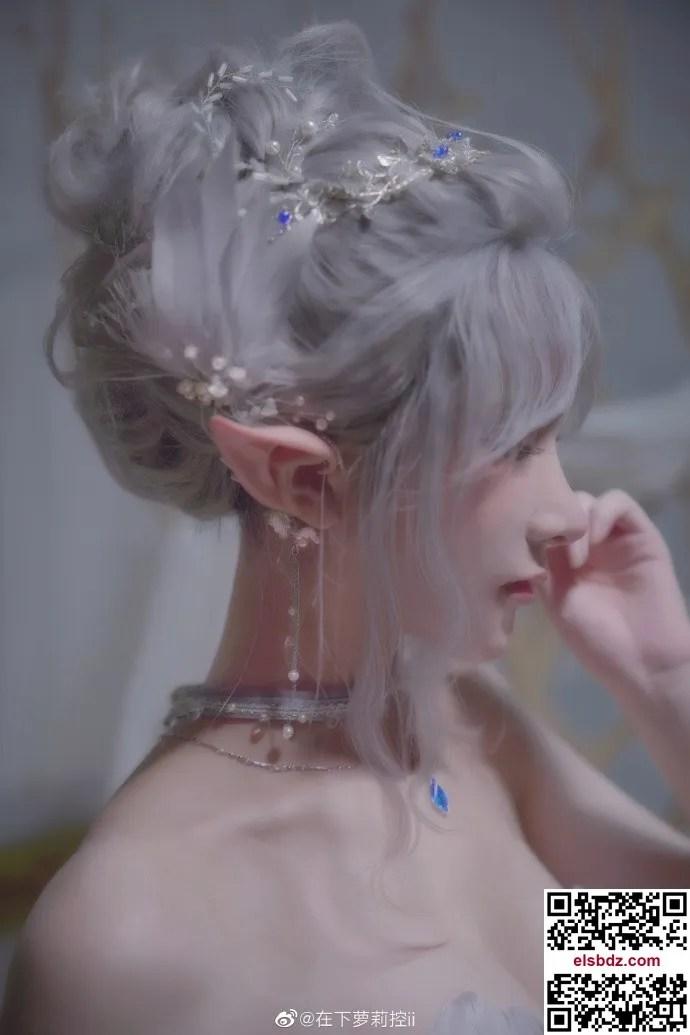 鬼刀海琴烟cos,冰公主的唯美仙气 cn在下萝莉控ii (12P)插图(3)