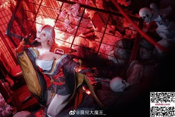 阴阳师吸血姬cos绯戮淬刃战国系列 cn露儿大魔王 (11P)插图(6)