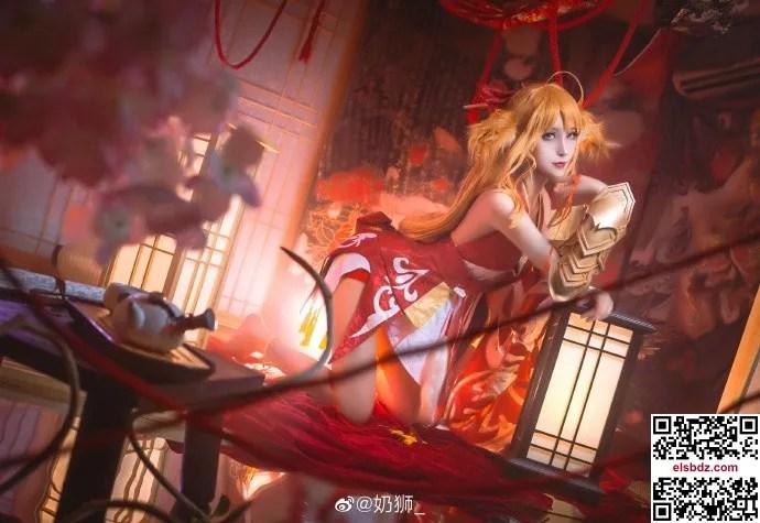 狐妖小红娘 涂山红红cos cn奶狮 (15P)插图(6)