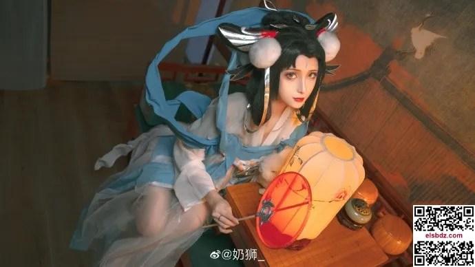 王者荣耀嫦娥如梦令cos 仙气优美 cn奶狮 (14P)插图(6)