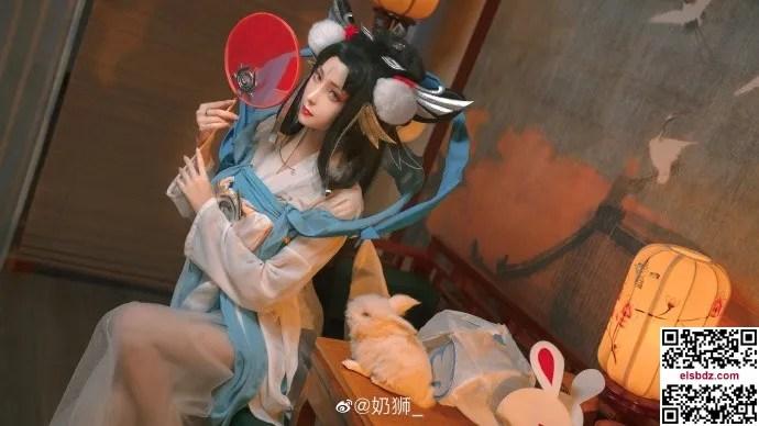 王者荣耀嫦娥如梦令cos 仙气优美 cn奶狮 (14P)插图(2)