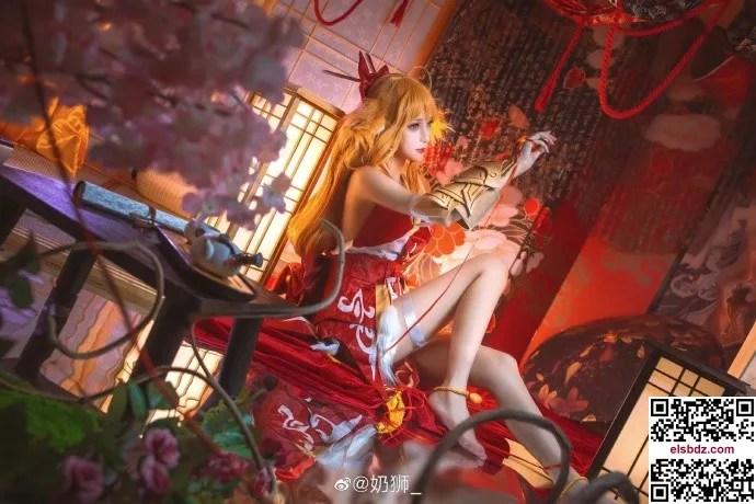 狐妖小红娘 涂山红红cos cn奶狮 (15P)插图(10)