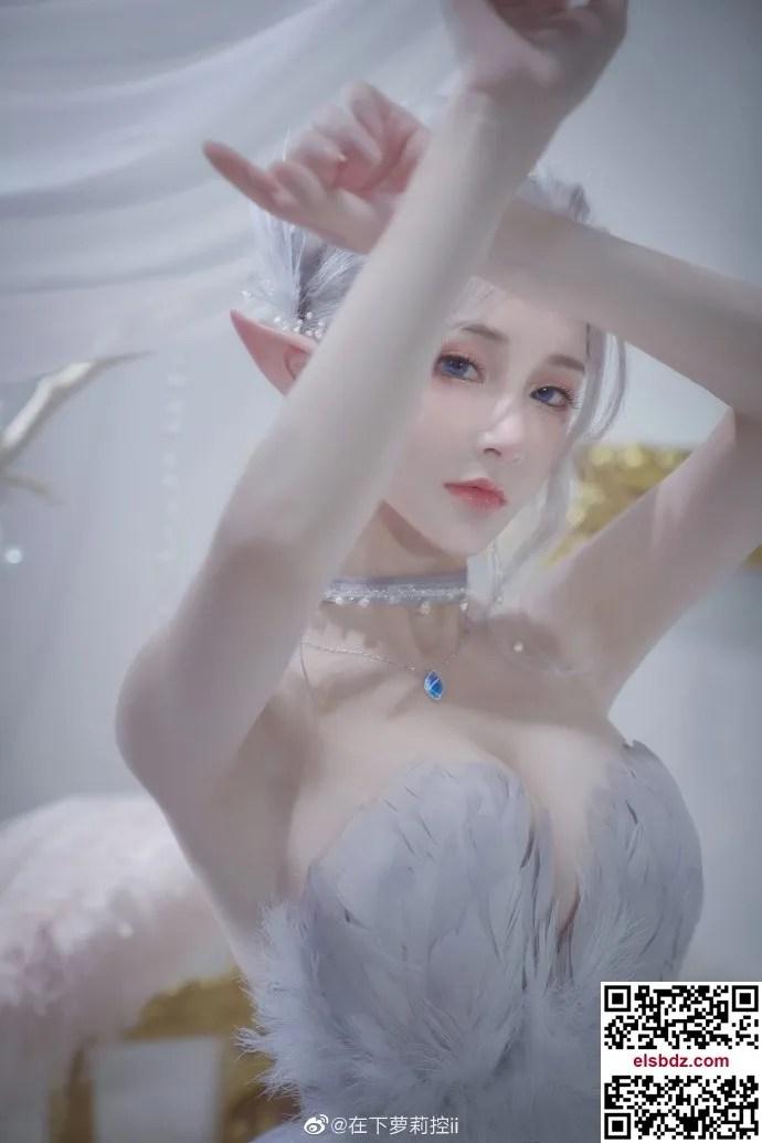 鬼刀海琴烟cos,冰公主的唯美仙气 cn在下萝莉控ii (12P)插图(1)