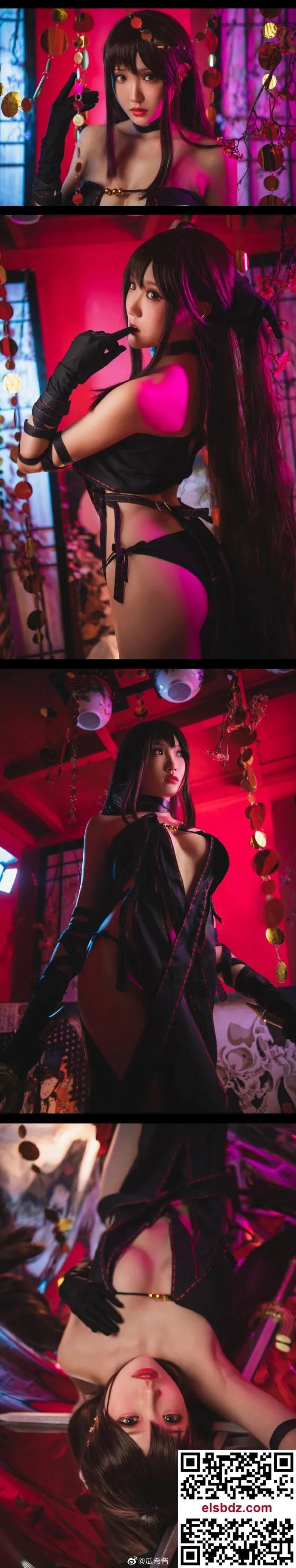 Fate/GrandOrder虞姬 命运冠位指定 虞美人cos CN瓜希酱 (9P)插图(8)