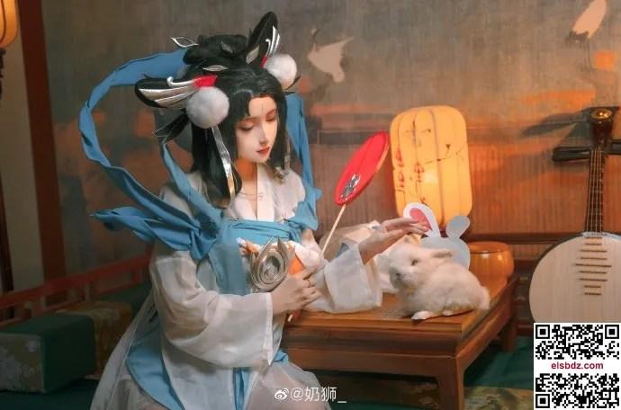 王者荣耀嫦娥如梦令cos 仙气优美 cn奶狮 (14P)插图(9)