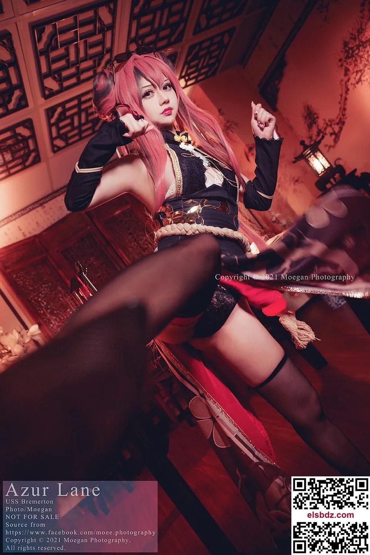 [冲田凛花Rinka] USS Bremerton, kung fu girl ver. (アズールレーン)插图(2)
