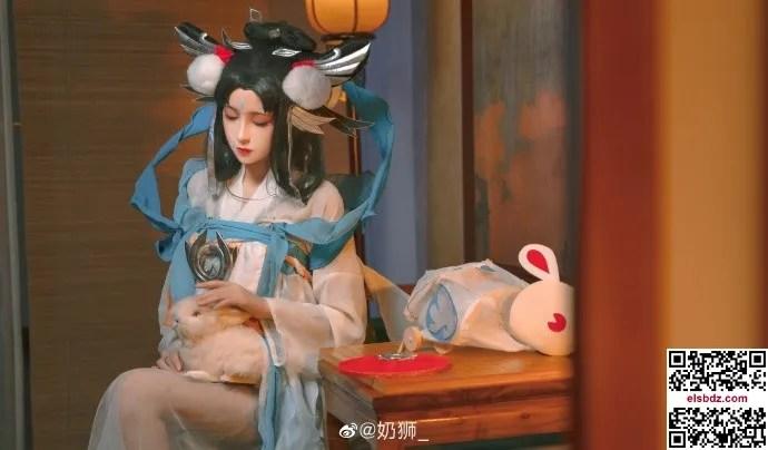 王者荣耀嫦娥如梦令cos 仙气优美 cn奶狮 (14P)插图(7)