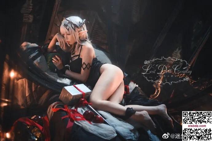 明日方舟泥岩cos 静谧午夜DN06 cn迷失人形QUQ (15P)插图(4)