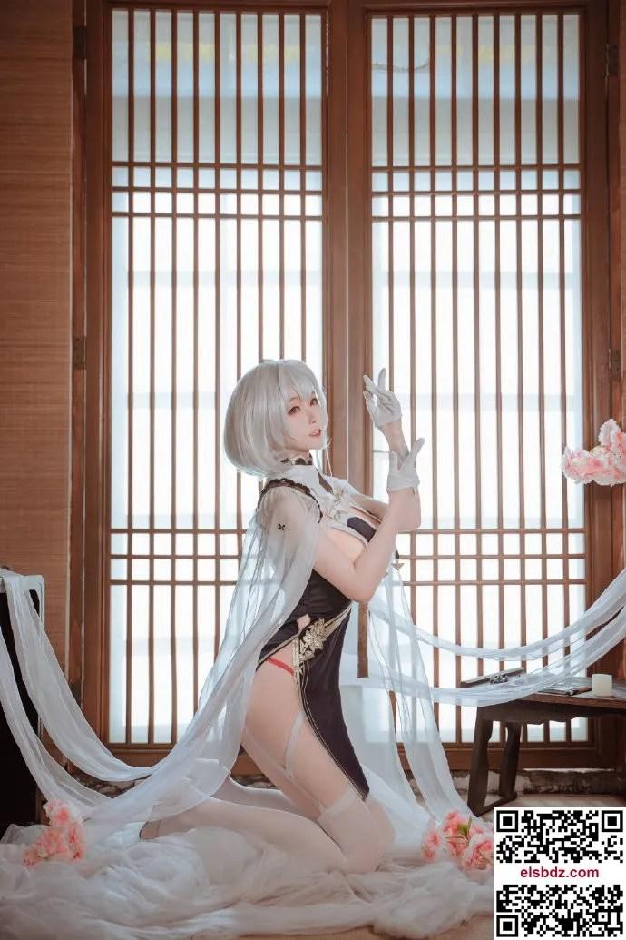 碧蓝航线天狼星旗袍cos 优美性感魅力 yui金鱼 (15P)插图(7)