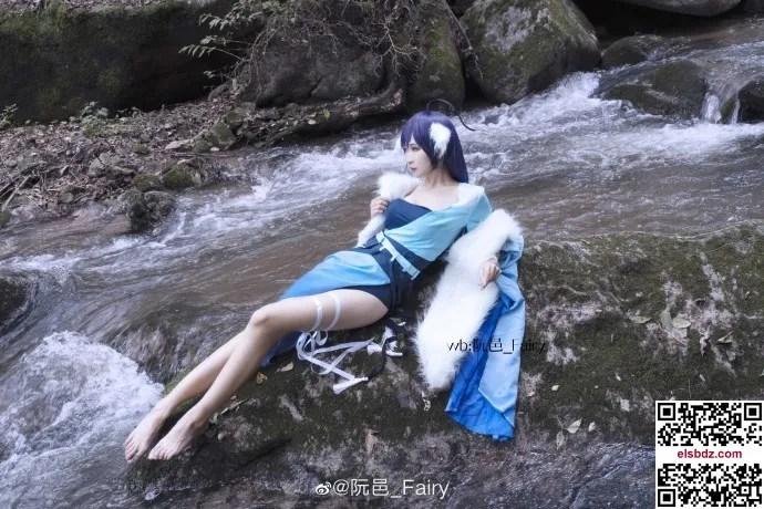 涂山雅雅狐妖小红娘cos,仙气水灵 cn阮邑_Fairy (12P)插图(4)