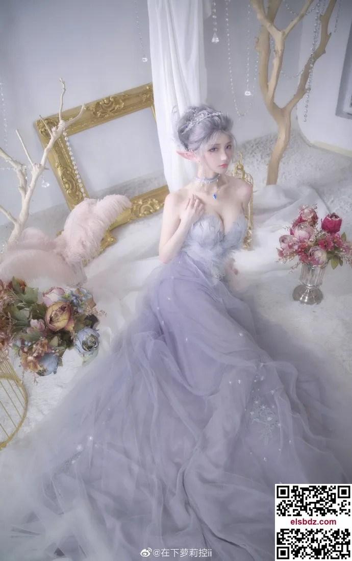 鬼刀海琴烟cos,冰公主的唯美仙气 cn在下萝莉控ii (12P)插图(9)