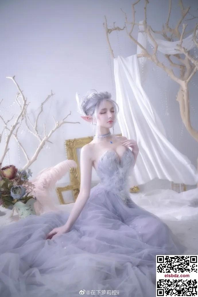 鬼刀海琴烟cos,冰公主的唯美仙气 cn在下萝莉控ii (12P)插图(5)