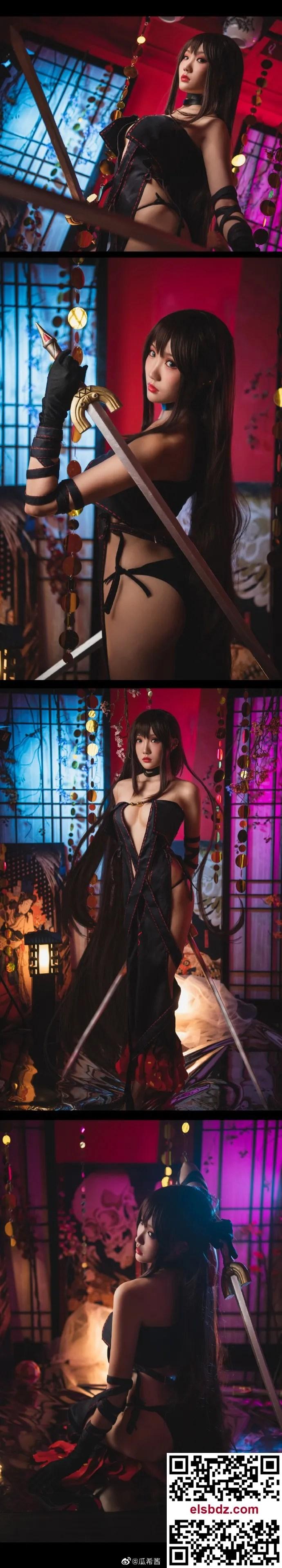 Fate/GrandOrder虞姬 命运冠位指定 虞美人cos CN瓜希酱 (9P)插图(7)