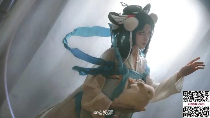王者荣耀嫦娥如梦令cos 仙气优美 cn奶狮 (14P)插图(4)