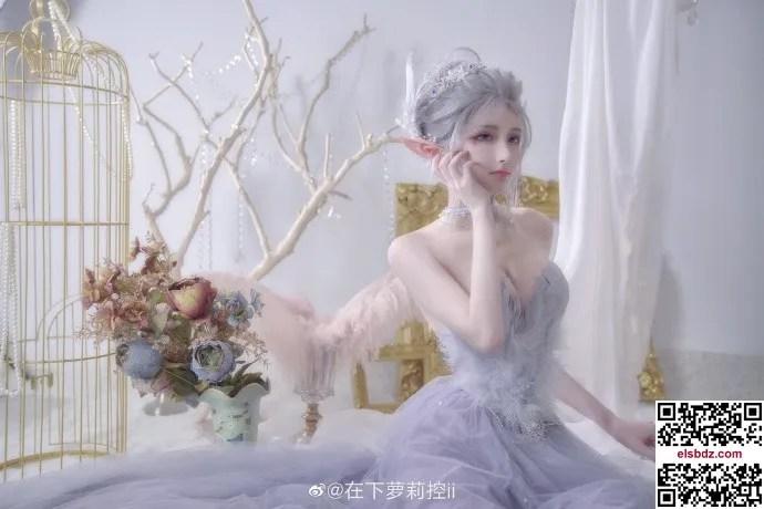 鬼刀海琴烟cos,冰公主的唯美仙气 cn在下萝莉控ii (12P)插图(4)