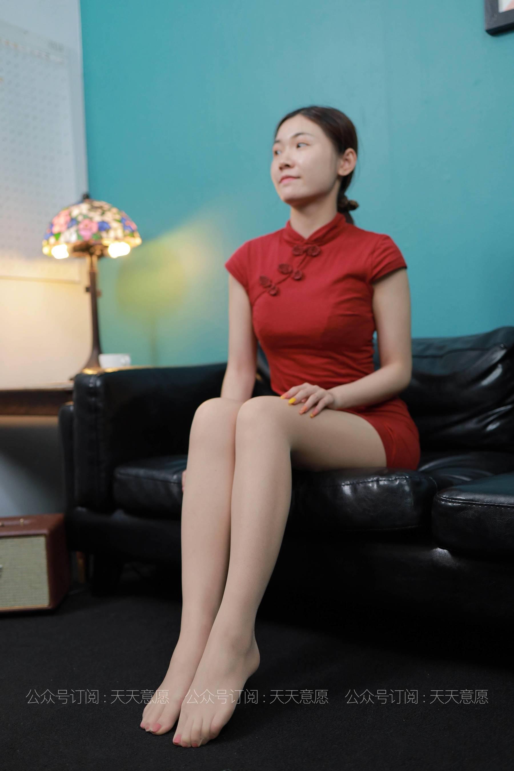 [IESS] 丝享家 769 可可《旗袍美佳人》 丝袜美腿写真[90P]插图(11)