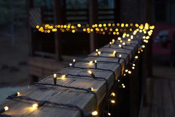 deck lighting ideas with brilliant