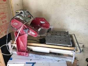 mk 370 tile saw for sale classifieds