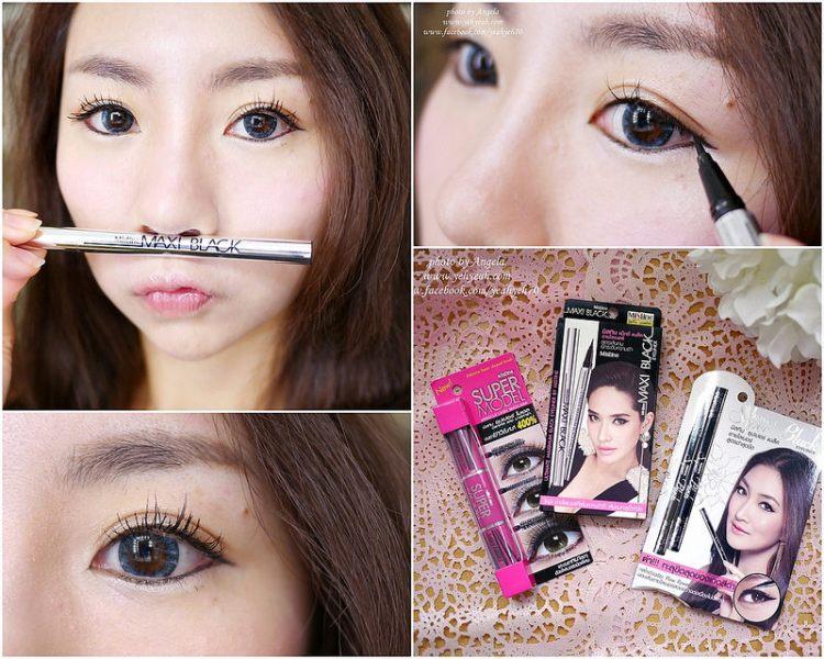 史上最滑順好畫的眼線液筆-泰國Mistine