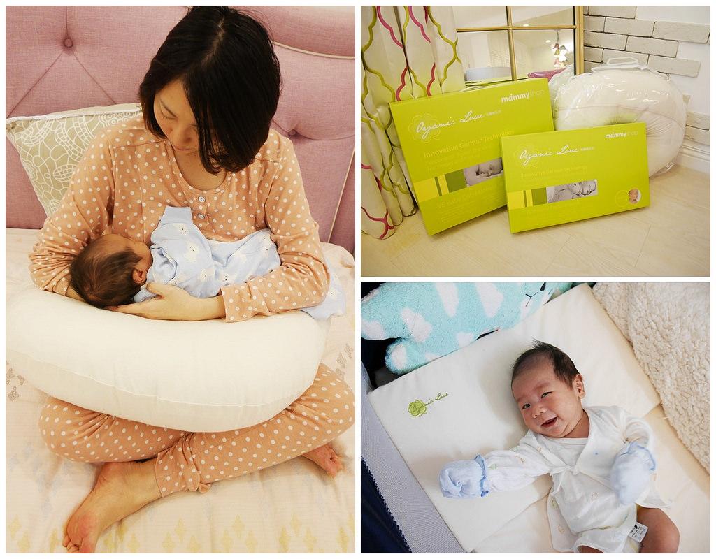[母嬰] 初生兒就可以使用的床墊和枕頭-mammyshop媽咪小站有機棉寶寶床枕系列