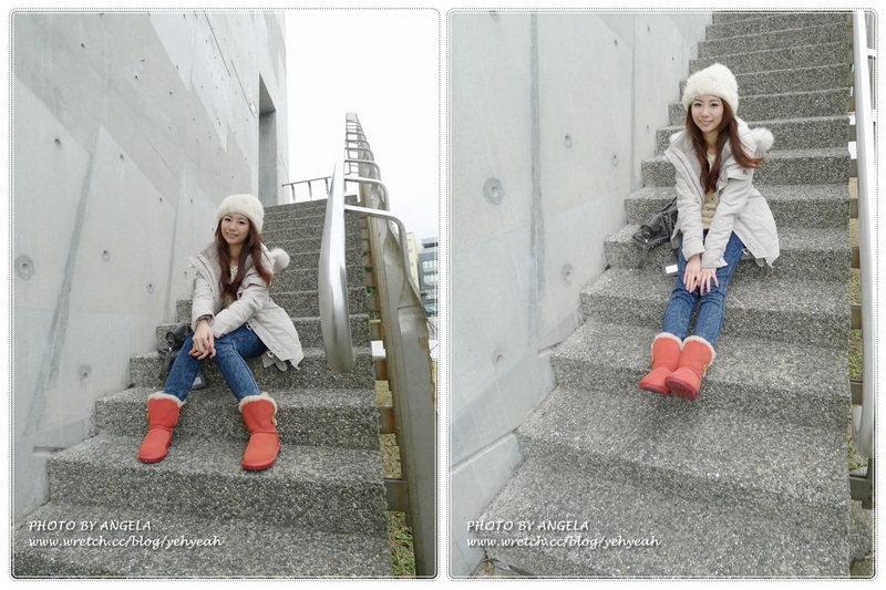Le Bunny Bleu超可愛紅色雪靴+淡水一日遊