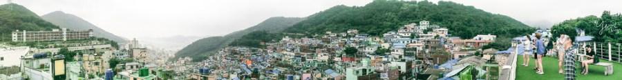 【釜山旅遊】韓國釜山六天五夜自由行Day4:甘川文化村、札嘎其市場、BIFF廣場、多大浦夢幻夕陽噴泉