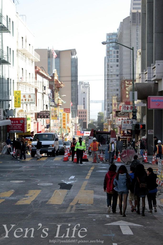 【美國旅遊】美西自由行:舊金山|美西旅遊第三站Day4,中國城/叮噹車博物館/聯合廣場