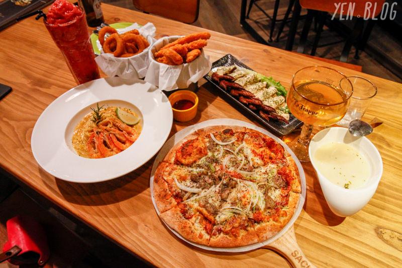 【食記】台中市中區 ‧ 薩克森比利時餐酒館(自由店)氣氛佳適合聚會!上百種酒任你挑