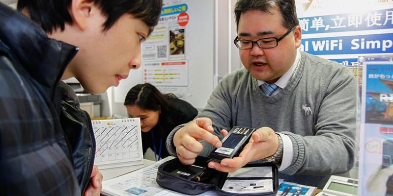 【京阪旅遊】日本京阪六天五夜自由行:日本Wifi機4G吃到飽使用心得│機場取機方便快速、多人分享省錢推薦