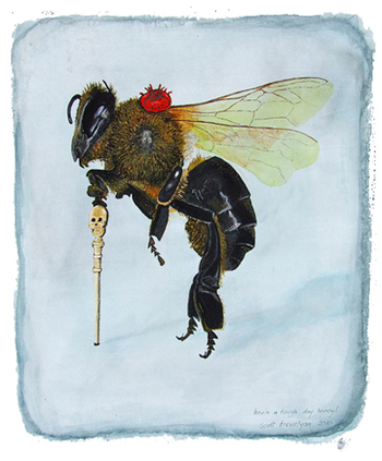 Scott Trevelyan, Bee'n a Tough Day Honey!, 2010