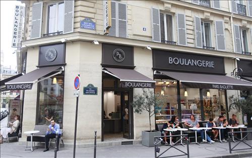 La boulangerie-café Paris Baguette dans le 1er arrondissement de Paris © Groupe SPC
