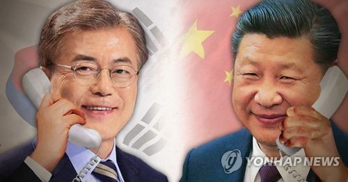 Hasil gambar untuk S. Korea to dispatch veteran politician to China forum for possible fence-mending