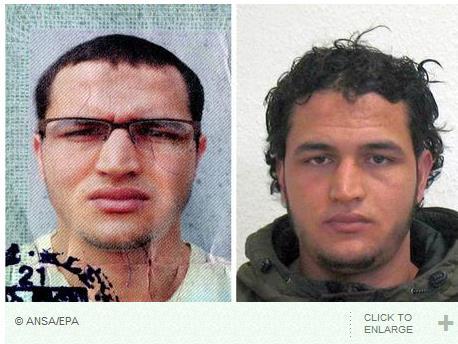 베를린 테러 용의자 암리의 사진
