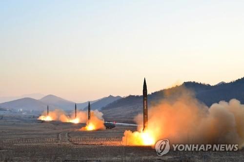 북한 탄도미사일 발사