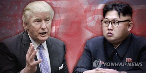 트럼프 행정부의 대북정책, 강한 압박과 대화 병행 (PG)
