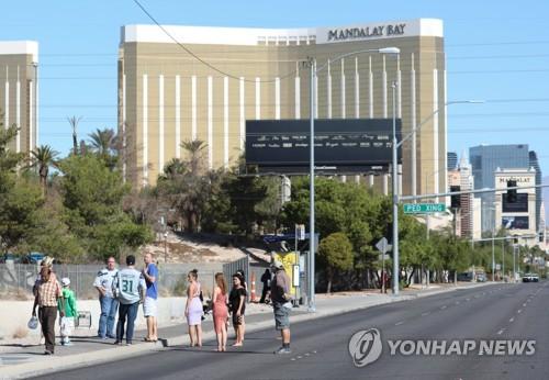 총격범 스티븐 패덕이 투숙한 만델레이 베이 호텔