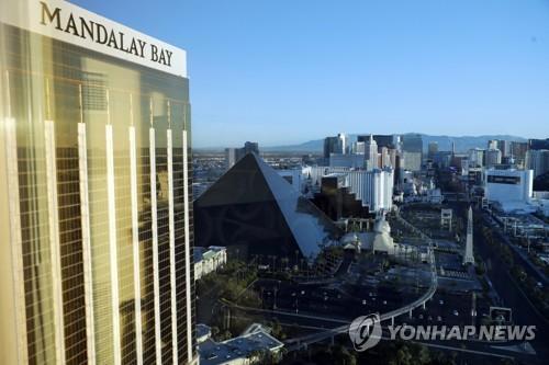 총기참사가 발생한 라스베이거스 만델레이 베이 호텔