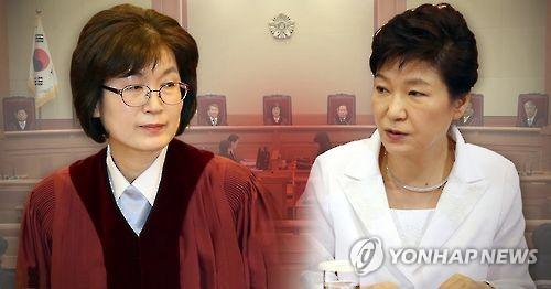 이정미 재판관, 박근혜 대통령 탄핵심판