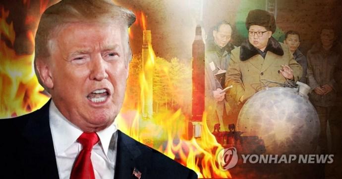 트럼프, 북한에 경고(PG)